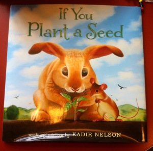 """If you plant a seed"" book cover"