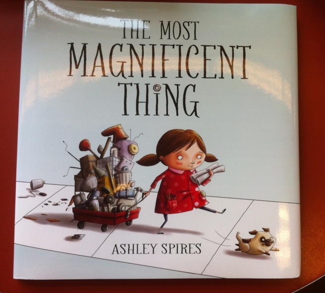"""The Most Magnificent Thing"" book cover"