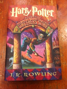 Harry Potter Book 1 Cover