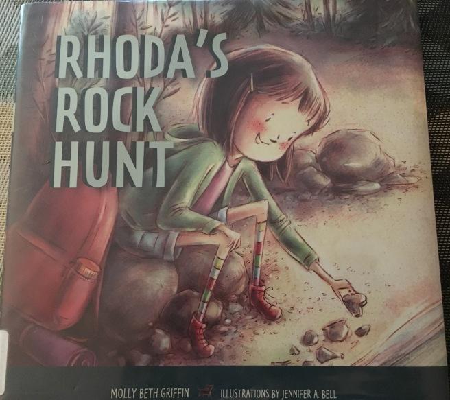 """""""Rhoda's Rock Hunt"""" Book Cover Picture"""