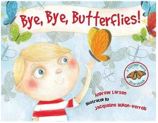 """""""Bye, Bye, Butterflies! Book Cover"""