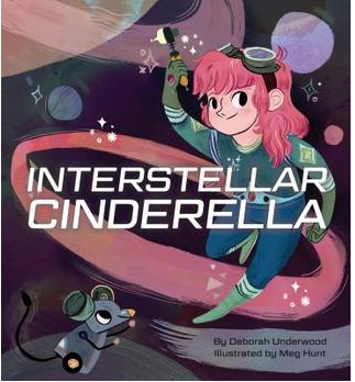 """Interstellar Cinderella"" Book Cover"