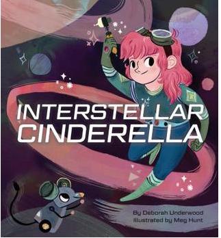 """Interstellar Cinderella"" Book Cover"