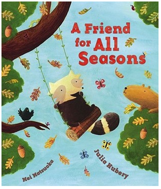 """A Friend for All Seasons"" Book Cover"