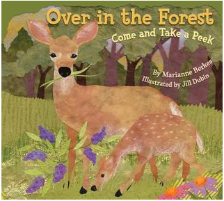 Over in the Forest book cover