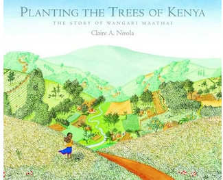 """Planting the Trees of Kenya"" Book Cover"