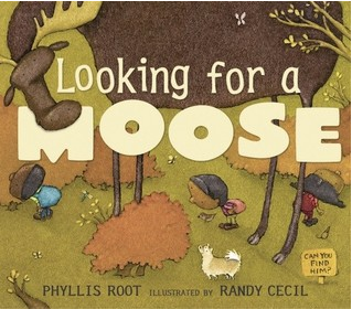 """Looking for a Moose"" Book Cover"