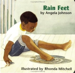 """Rain Feet"" Book Cover"