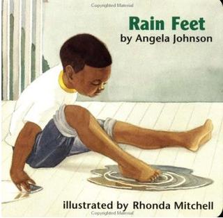 """""""Rain Feet"""" Book Cover"""