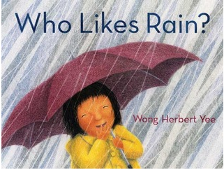 """Who Likes Rain?"" Book Cover"