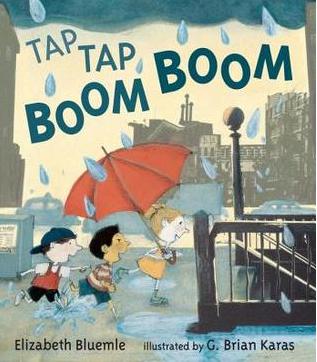 """""""Tap Tap Boom Boom"""" Book Cover"""