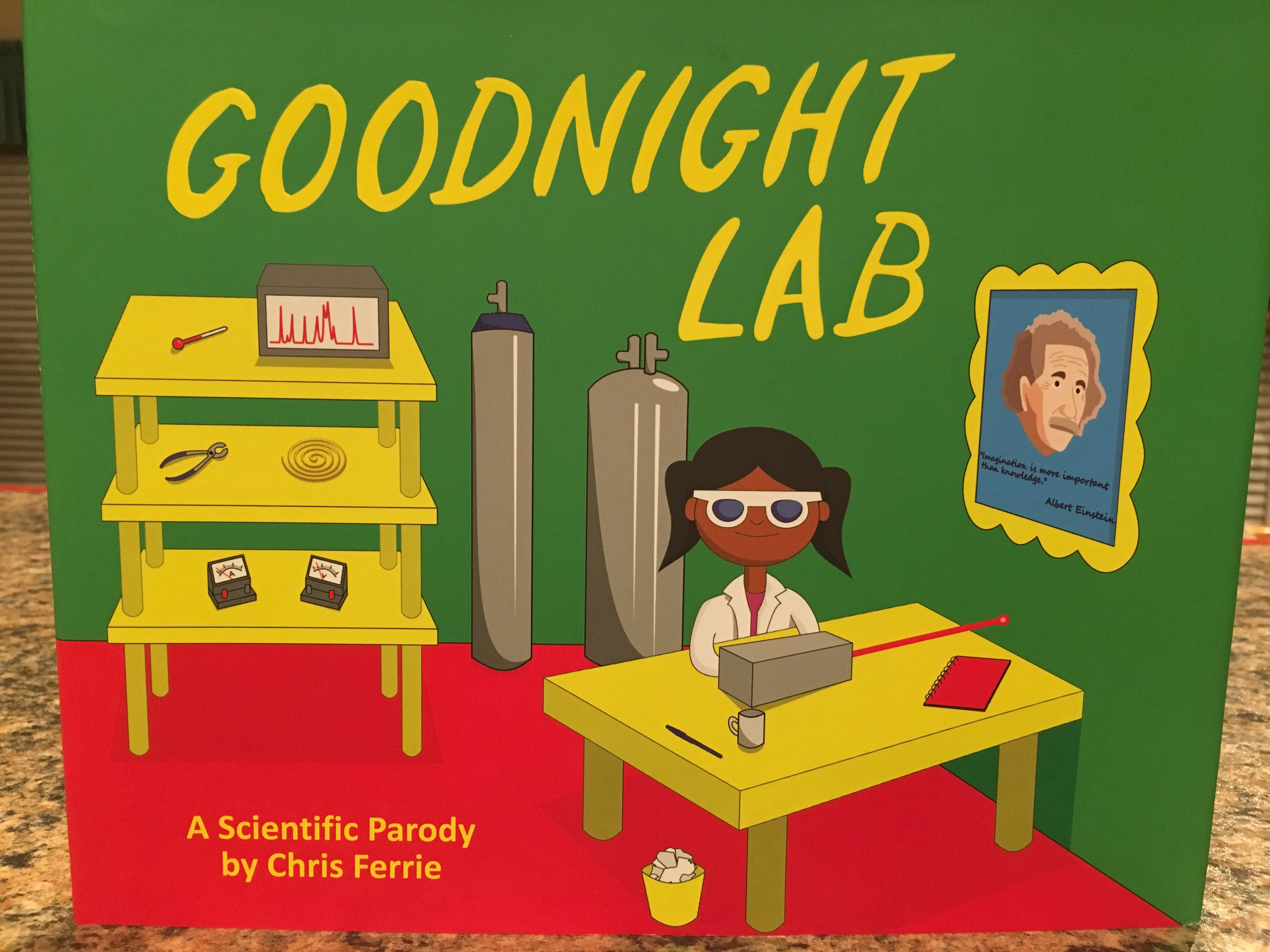"""Goodnight Lab"" book cover"