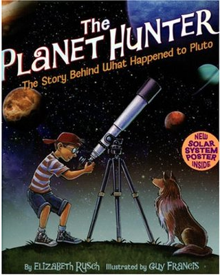 """Book Cover for """"The Planet Hunter"""""""