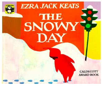 """Book Cover of """"The Snowy Day"""""""