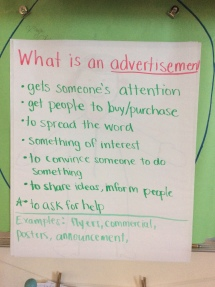 Teacher Created Posters About Advertisements