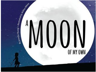 """A Moon of My Own"" book cover"