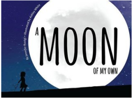 """""""A Moon of My Own"""" book cover"""