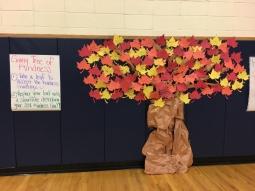 Giving Tree of Kindness Bulletin Board
