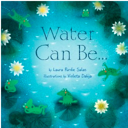 """""""Water Can Be..."""" Book Cover"""