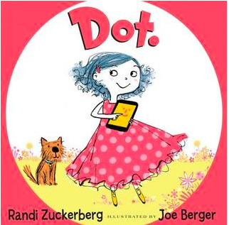 """""""Dot."""" book cover"""
