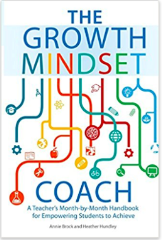 Growth Mindset Coach Book and Yet Bulletin Board