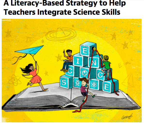 """Mind/Shift Article Picture: """"A Literacy-Based Strategy to Help Teachers Integrate Science Skills"""""""