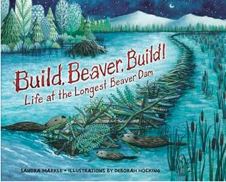 "Book Covers for ""Build, Beaver, Build!"" and ""In the Middle of Fall"""