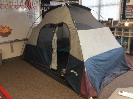 Tent in the Classroom