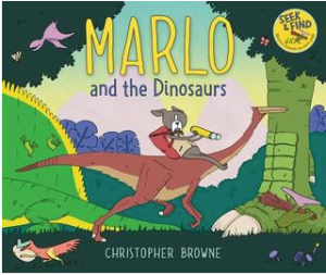 "Book Cover for ""Marlo and the Dinosaur"""