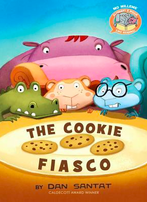 """Book Covers for: """"The Cookie Fiasco"""", """"The Secret Project"""", and """"Gus's Garage""""."""