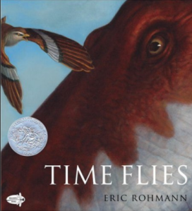 """Time Flies"" Book Cover"