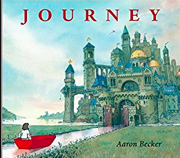 "Aaron Becker's Book Covers for: ""Journey"", ""Quest"", and ""Return"""