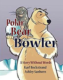 """Book Cover of """"Polar Bear Bowler"""""""