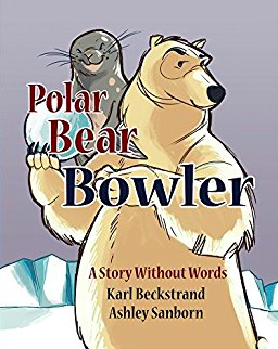 "Book Cover of ""Polar Bear Bowler"""