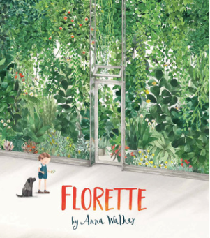 "Book Covers for ""All the Animals Where I Live"" and ""Florette"""