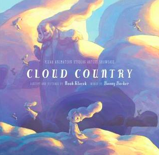 """Book Covers for """"Cloud Country"""" and """"Once Upon a Cloud""""."""