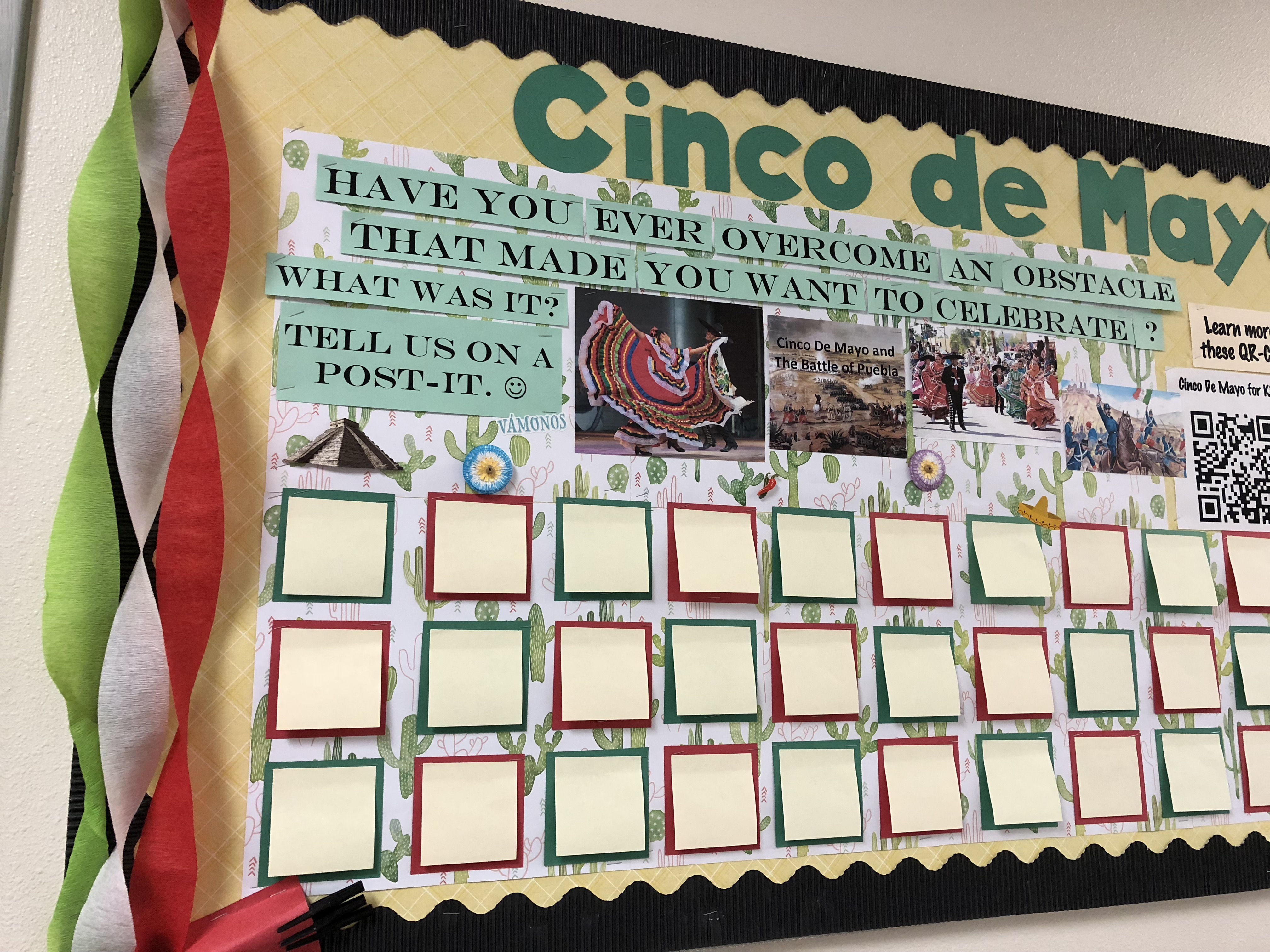 Cinco de Mayo Bulletin Board