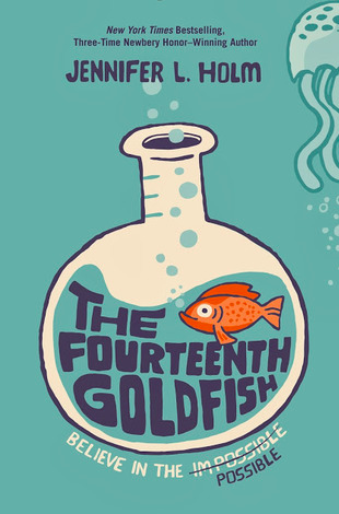 """Book Cover for """"The Fourteenth Goldfish"""""""