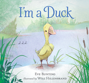 "Book Cover for ""I'm a Duck"""