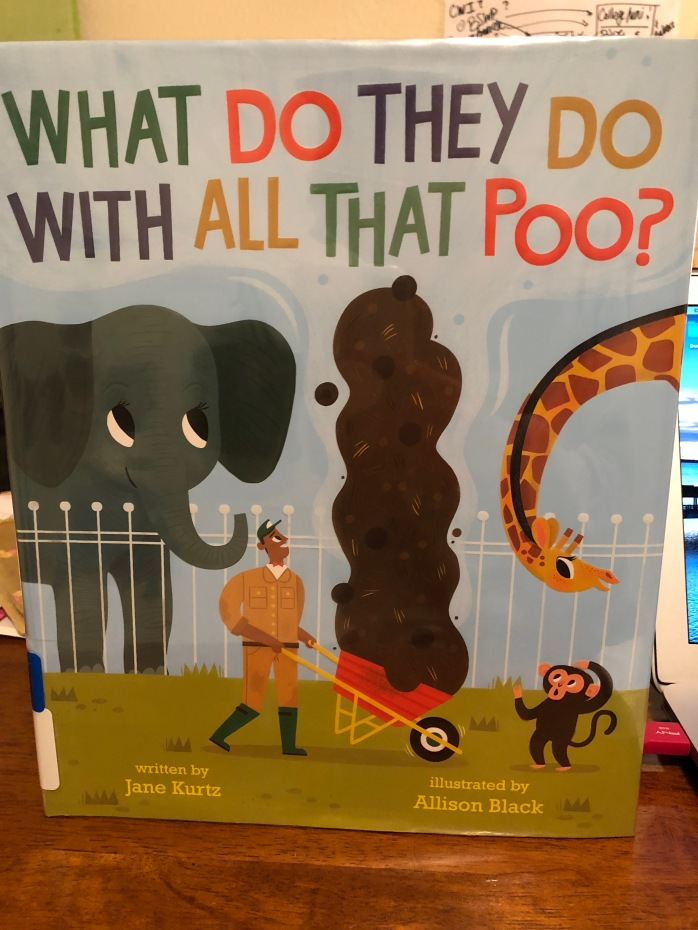 """Book Cover of """"What do they do with all that poo?"""""""